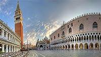 大人のためのフルドリルダイヤモンド絵画キット、家の壁の装飾のための刺繡ラインストーンクラフトキャンバス、ヴェネツィアの風景のサンマルコ広場 30x40cm
