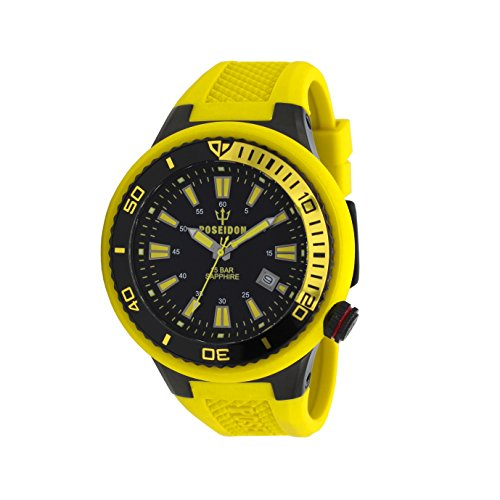 POSEIDON by KIENZLE Uhr Analog mit Silikon Armband UP00503