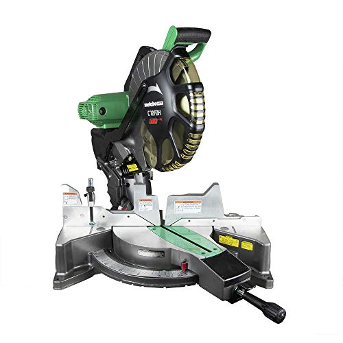 Metabo HPT 12-Inch Compound Miter Saw, Laser Marker System, Double Bevel,...