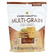Crunchmaster Crackers Sea Salt 4.5oz (Pack of 12)