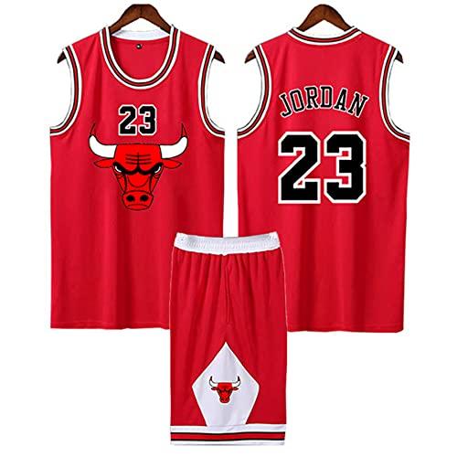 QJJ Adultos Y Niños Michael Jordan Retro Basketball Jersey, Chicago Bulls 23#...