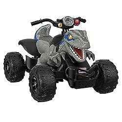 3. Power Wheels Jurassic World Dino Racer