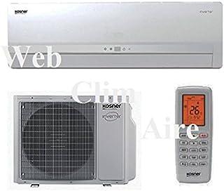 "Web-clim""aire kosner Inverter Plus - Climatizador (2500kW)"