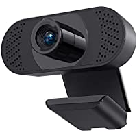 ieGeek Full HD 1080p USB Webcam with Microphone
