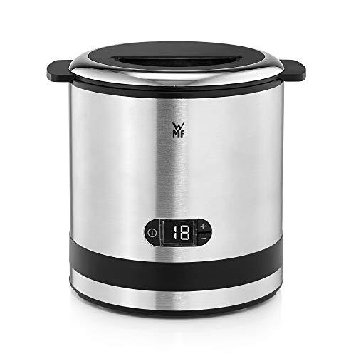 WMF Küchenminis 3-in-1 Eismaschine, Ice Maker für Frozen Joghurt, Sorbet und Eiscreme, Gefrierbehälter 300 ml, 30-Minuten-Time, Frozen Joghurtmaschine