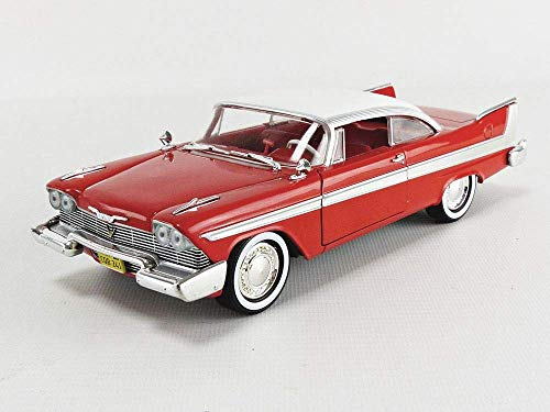 GreenLight Collectibles - 1:24 Christine (1983) - 1958 Plymouth Fury