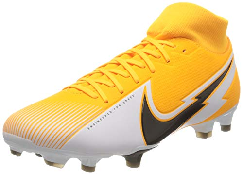 Nike Unisex Superfly 7 Academy FG/MG Football Shoe, Laser Orange/Black-White-Laser Orange, 39 EU