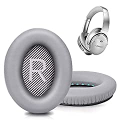 【Ultimate Comfort & Long Use】Bose headphones replacement ear pads made of superior PU leather, skin-friendly feather-like soft comfortable, breathable and absorbable, build to last.Internal super soft memory foam padding, durable & flexible, provide ...