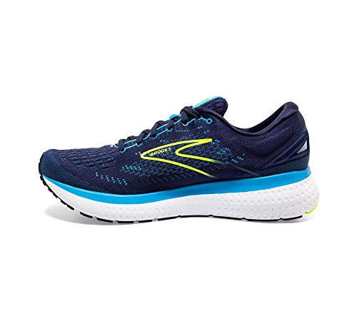 Brooks Glycerin 19, Zapatillas para Correr Hombre, Navy Blue Nightlife, 44.5 EU