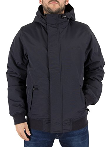 Carhartt Herren Kodiak Sweatjacke, Blu (Dark Navy/Black), X-Large