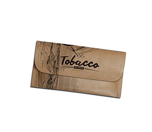 Wooden Anchor - Tabaktasche aus Tyvek, Tabak Beutel Tasche, Vintage Edition, Manufaktur13 M13
