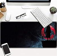マウスパッド ナルト アニメマウスパッド、大型ゲーム用の高品質テクスチャーマウスパッド、ラップトップ、コンピューター、Pc用のノンスリップラバーベースマウスパッド 60X30Cm