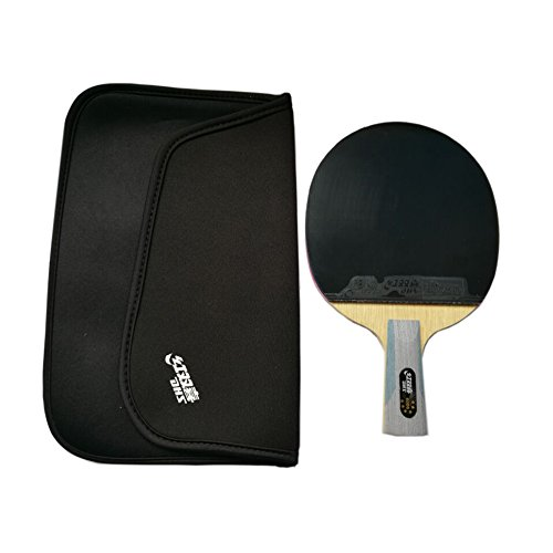 DHS 6006 New Series SUPERSTAR Table Tennis Racket Penhold with a LANDSON Rubber Protction
