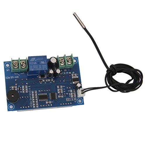 W1401 12V Thermostat Régulateur Température Module Numérique LED