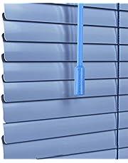 CORTINA Gazebo/balcón/Patio/Exterior for Exteriores, persianas venecianas de Metal de Aluminio - 60/75/90/105/120/135 cm de Ancho