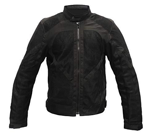Motardzone Chaqueta de moto para hombre, de verano y para invierno, impermeable,...