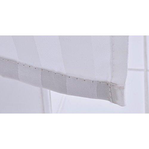 RIDDER Duschvorhang Textil ca. 180 x 200 cm, Kani rot