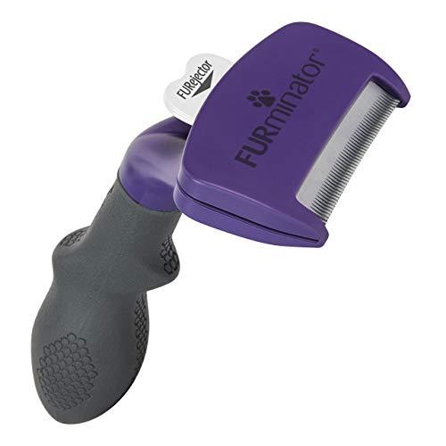 FURminator deShedding Tool, Taglia del Gatto M/L, Spazzola per Gatti di Medie e Grandi Dimensioni per Rimuovere il SottoPelo, a Pelo Corto
