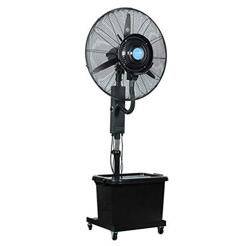 Ventilador de bocina Pedestal de atomización Ventilador de bocina Amplificador de Aire de enfriamiento de humidificador de Niebla oscilante Grande con rociador Características para Comercial 220V /