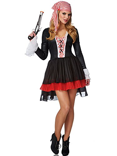 Franco Womens Pirates Of The Caribbean Costume M