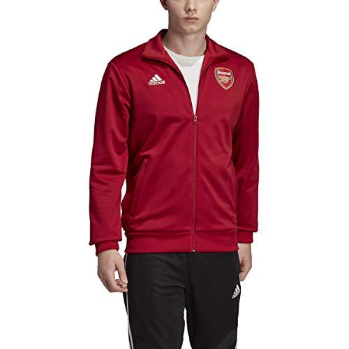adidas 2019-2020 - Giacca da allenamento Arsenal a 3 strisce, colore: Marrone
