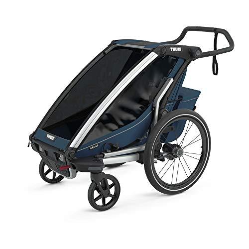 Thule Chariot Cross 1 Majolica Blue Fahrradanhänger Kinderanhänger 2021