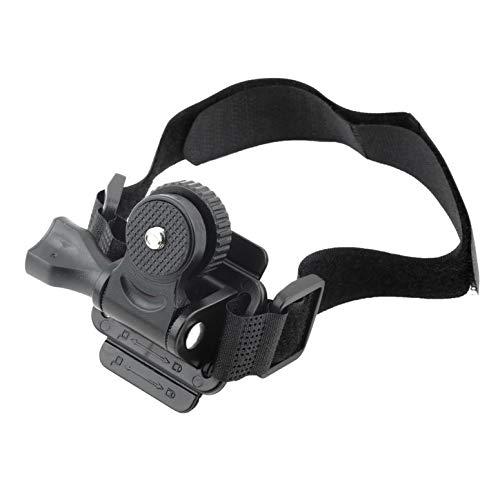 Einstellbare Kopfbelüftung Helmhalterung für Mobius ActionCam Sportkamera Video DV DVR Fahrradhelmhalterung Fahrradhalter