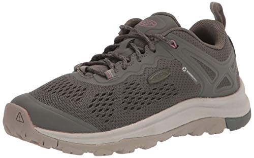 KEEN womens Terradora 2 Vent Low Height Hiking Shoe, Dusty Olive/Nostalgia Rose, 6.5 US