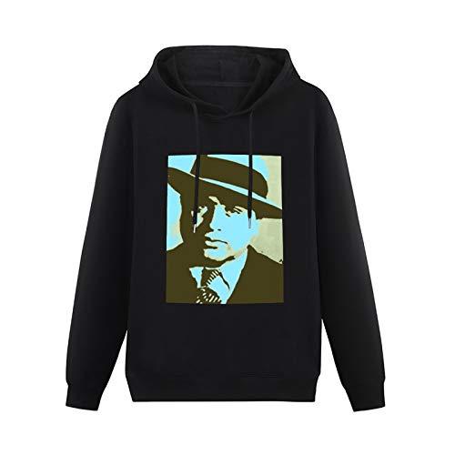 ZHONGMIN Unisex Al Capone Pop Art Repeat2621 Halloween Cartoon Hooded Pullover Outwear horro for Teens