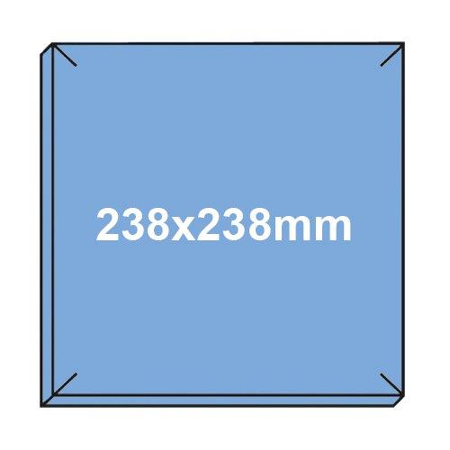 5x Original – Filter – Filtereinsatz LIMODOR F/M – Badlüfter – Limot Compact 238x238mm – Ersatzfilter Art.-Nr.: 00070 - 4