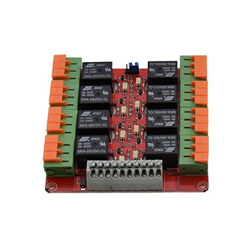BiaBai Mit 1/2/4/8/16 Kanal 20A 5V Relais Steuermodul Geeignet für R3 Raspberry Pi Praktisches Ersatzzubehör