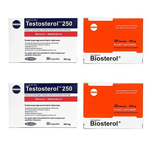 Megabol 2X TESTOSTEROL 250 + 2X BIOSTEROL Combo !