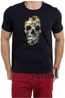 Camisa Camiseta Masculino Blusa A Caveira Cidade Floral Roma