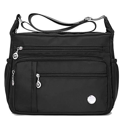 MINTEGRA Women Shoulder Handbag Roomy Multiple Pockets Bag Ladies Crossbody Purse Fashion Tote Top Handle Satchel
