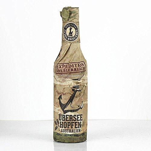 Rügener Insel-Brauerei - Überseehopfen Craftbier 5,5% Vol. Indian Pale Ale - MW0,33l inklusive Pfand