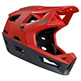 IXS Trigger FF Casco Integral VTT/E-Bike/BMX Adultos Unisex, Red, X-Small