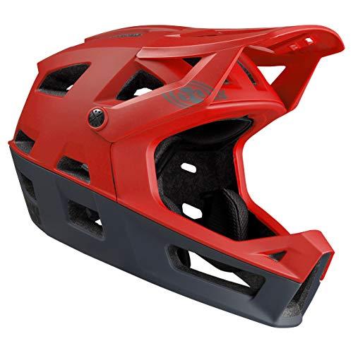 IXS Trigger FF Casco Integrale MTB, E-Bike/BMX Adulto, Unisex, Red, X-Small
