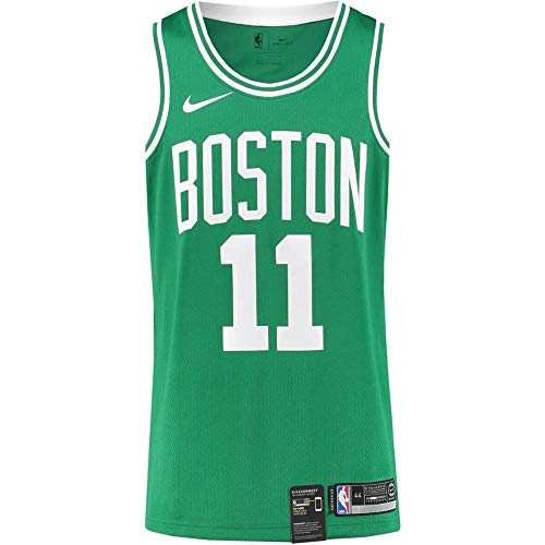 Nike New Kyrie Irving Green Celtics Jersey Stitched