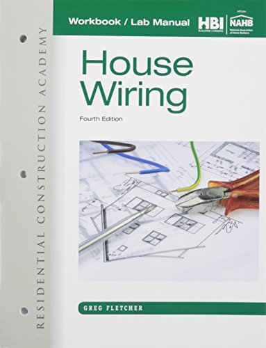 Workbook with Lab Manual for Fletcher's Residential Construction Academy: House Wiring, 4th
