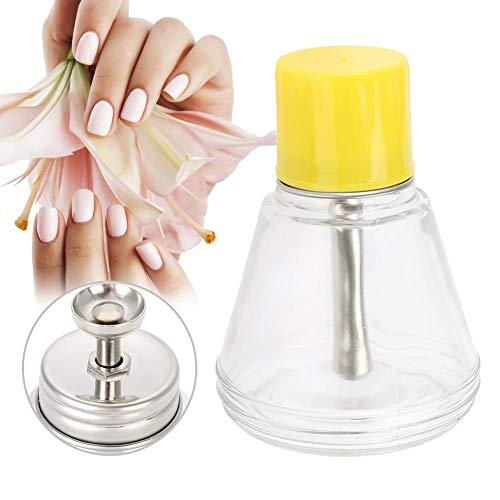 Distributeur à pompe, 150ml Dissolvant à vernis à ongles Distributeurs à pompe Bouteille en plastique vide Récipient pour produits cosmétiques clair Distributeur d'art en verre liquide