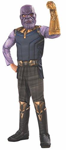 Avengers - Disfraz de Thanos Premium, Infinity Wars, infantil 3-4 años (Rubie's 641060-S)