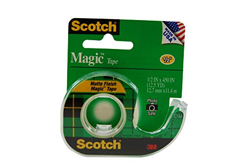 Pack of 2 3 Rolls Boxed Invisible Numerous Applications Engineered for Repairing 3//4 x 300 Inches Scotch Magic Tape 3105