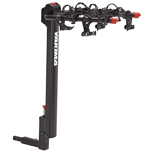 YAKIMA - DoubleDown 4 Hitch Mount Tilting Bike Rack, 4 Bike Capacity