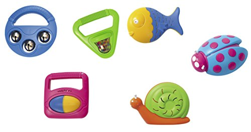 Why Should You Buy Halilit Clown Rattle & Animal Shakers