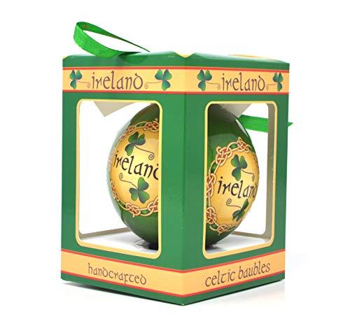 Royal Tara Ireland Celtic Bauble Ornament in Gift Box