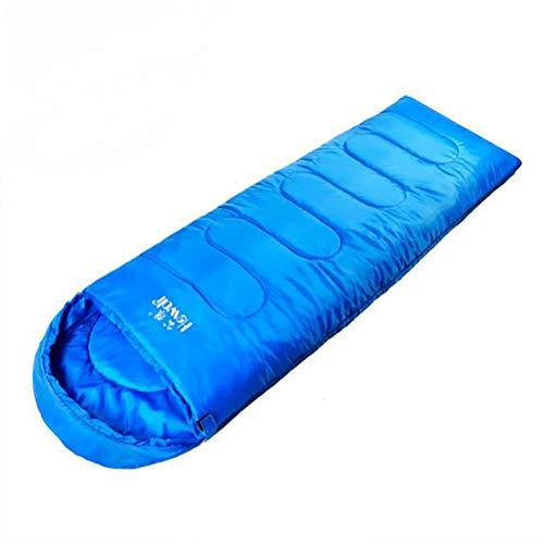 SMEI Outdoor-Bergsteiger Schlafsack Umschlag Vier Jahreszeiten Erwachsene Camping Schlafsack Baumwolle Mittagessen Camping Schlaftasche 950g Keine Nähte