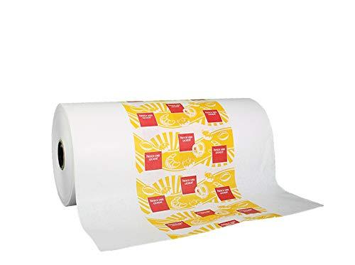 Inslagpapier rol zon motief 50 cm 10 kg ca. 500 m rolpapier Aromapack