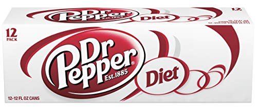 Diet Dr. Pepper, 12 Fl Oz (pack of 12)
