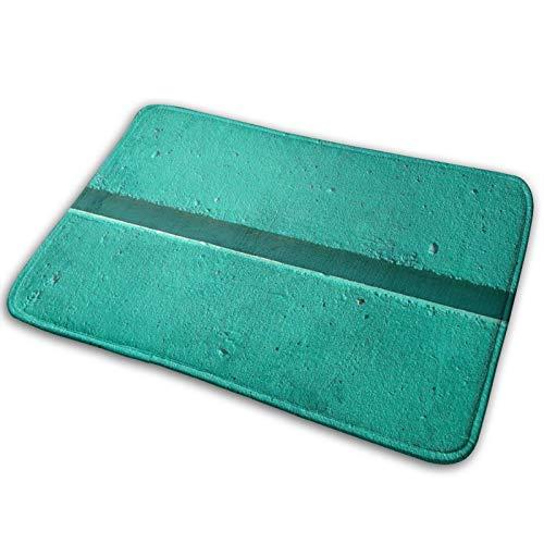 Alfombra de piso para puerta de pasillo, baño, interior y exterior, antideslizante y lavable, práctico limpiador de barro y trampa de polvo para puerta, pared, piedra, textura