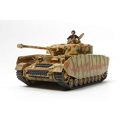 タミヤ 1/48 ミリタリーミニチュアシリーズ No.84 ドイツ陸軍 IV号戦車 H型 後期型 プラモデル 32584